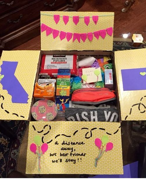 Gifts Ideas For Bff 20 Awesome Birthday Care Packages Any College Student