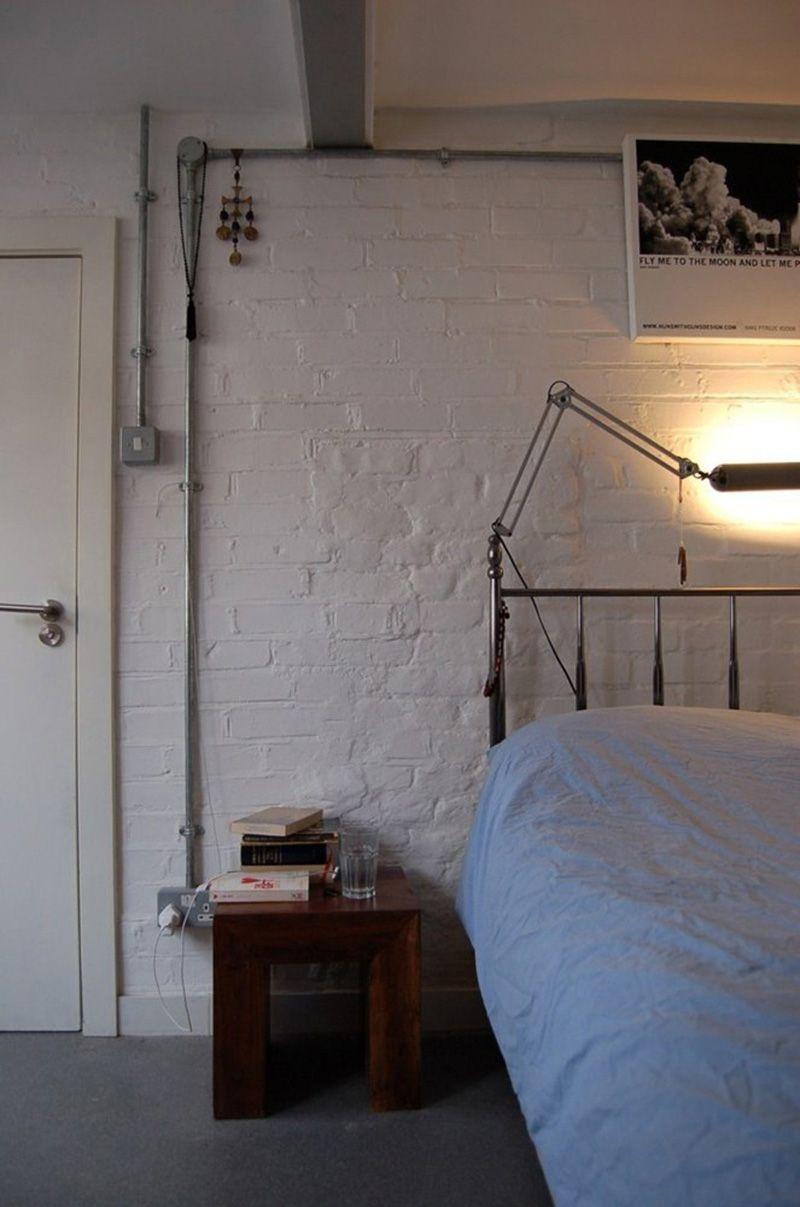 loft londres dans une ancienne fabrique de piano cable electrique apparente et electrique. Black Bedroom Furniture Sets. Home Design Ideas
