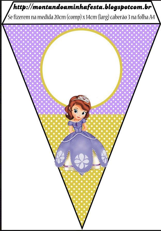 Banner Piece Princesita Sofia Princesa Sofia Partido En Sofia