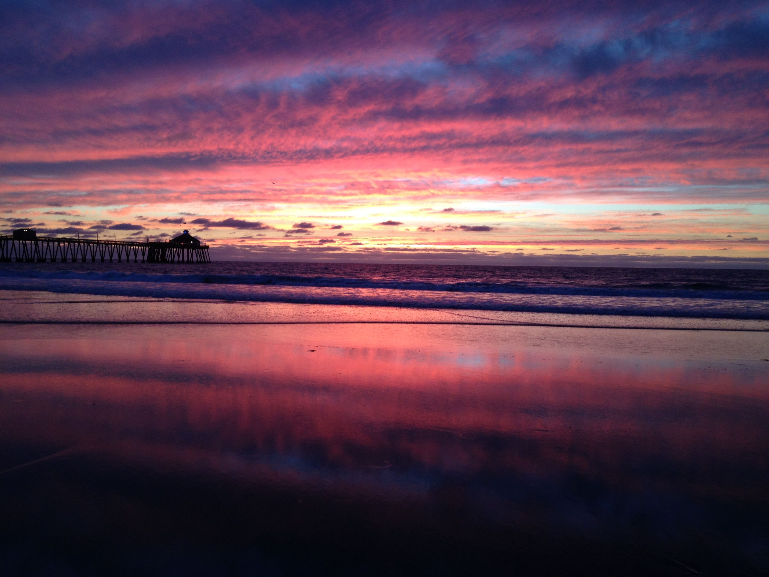 Imperial beach sunset. My inspiration for my bedroom color palette.