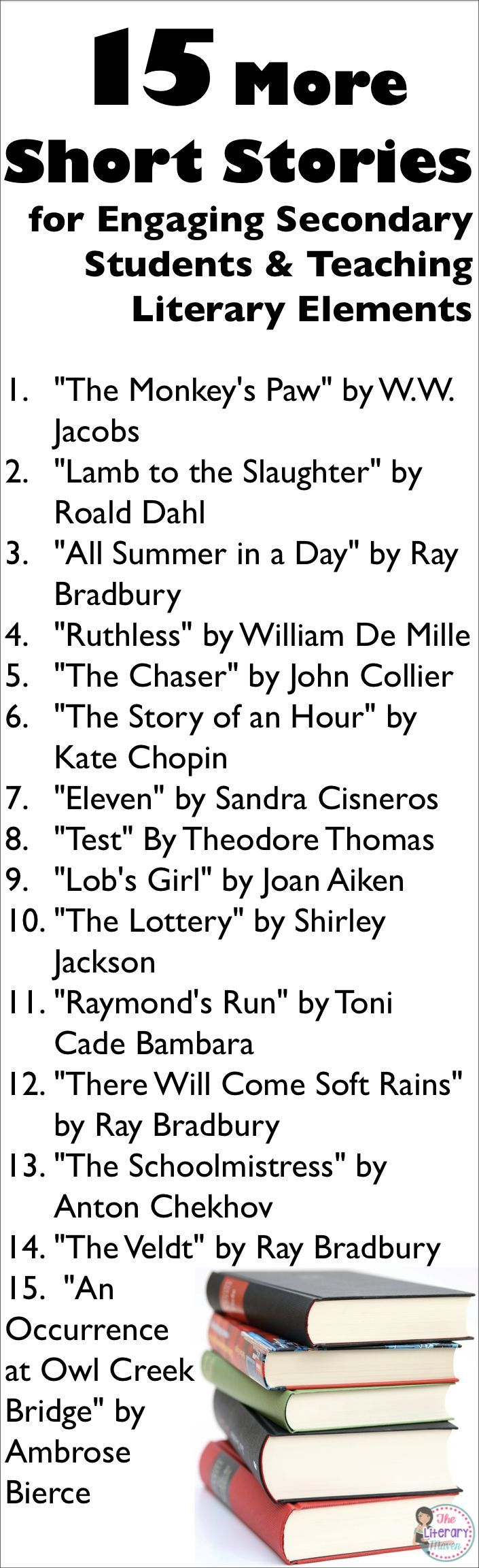 15 More Short Stories for Engaging Secondary Students ...