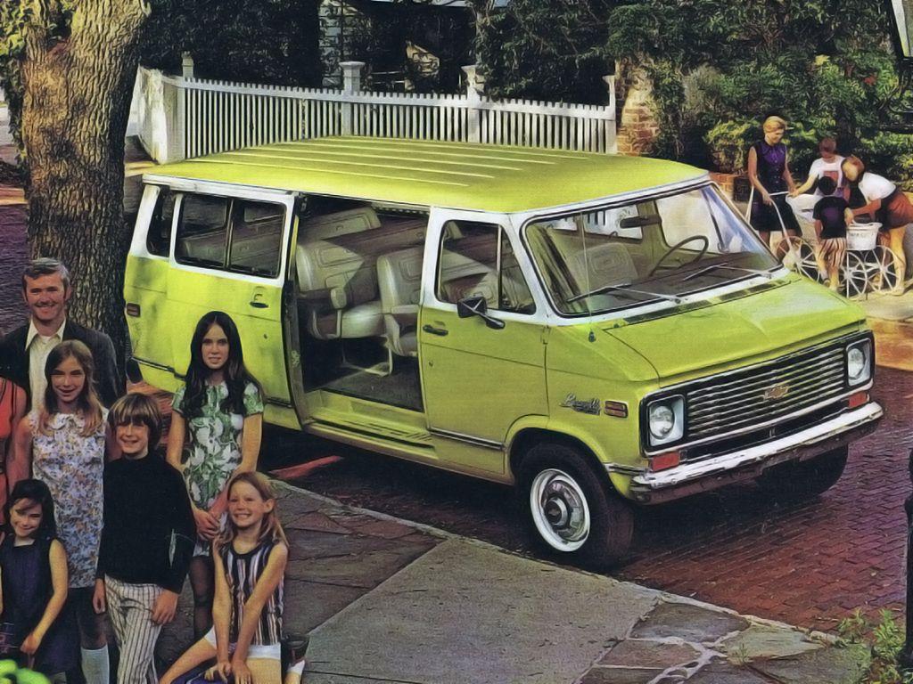 1973 Chevrolet G20 Beauville Pkg Chevy Van Chevrolet Van Van