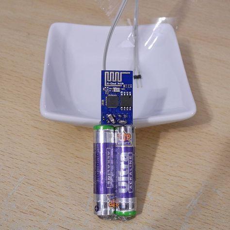Funk-Wassermelder selbstbau Schaltung   Tech   Pinterest   Elektro ...