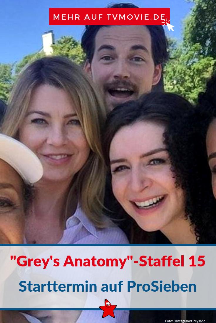 Greys Anatomy Ausstrahlung