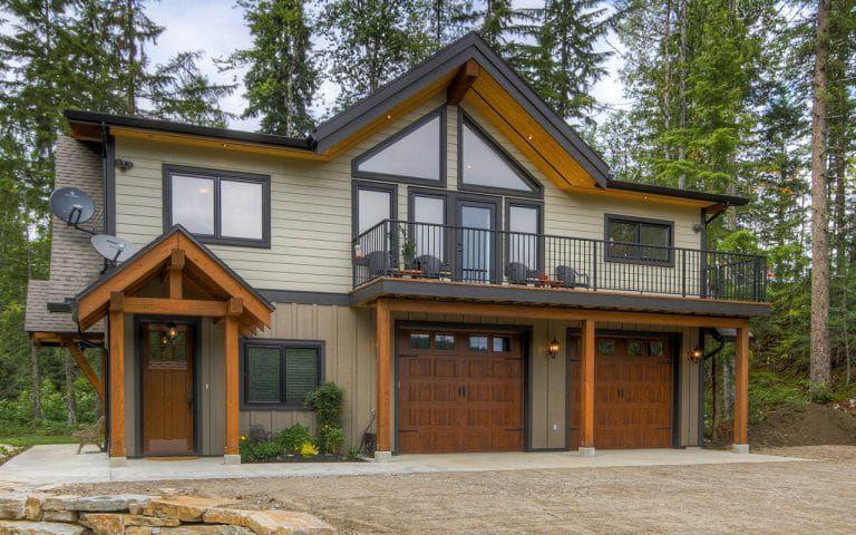 Revelstoke Timber Hybrid Carriage house plans, Garage