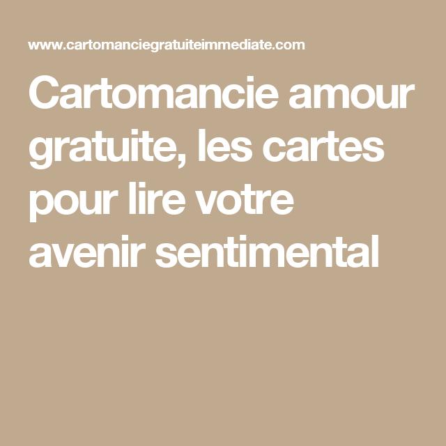 Cartomancie amour gratuite, les cartes pour lire votre avenir sentimental 7c0fac7a451a