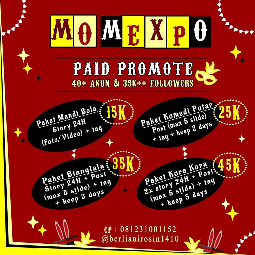 [OPEN PAID PROMOTE MANAGEMENT OLYMPIAD 2019] Hallo guys