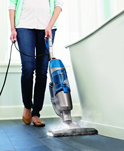 Bissell 1132a Symphony All In One Vacuum And Steam Mop 4 Mop Pads Included Steam Mop Best Steam Mop Natural Carpet Cleaning
