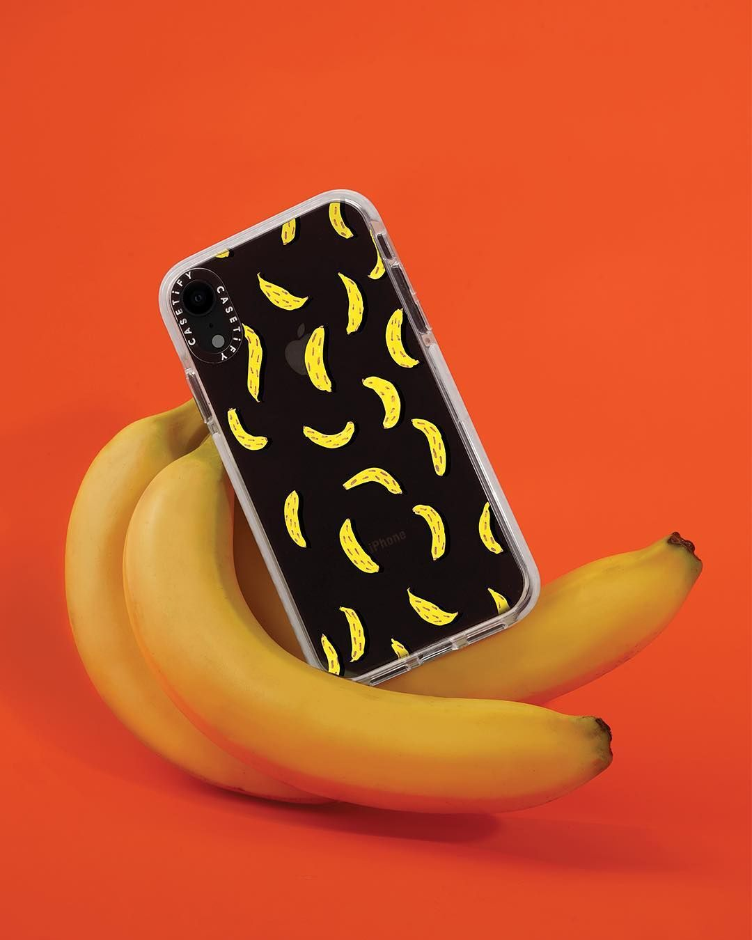 9a0c3a834d Casetify Impact iPhone XR Case featuring our favorite fruit, B-A-N-A-N-A-S!  Get your fruit iPhone