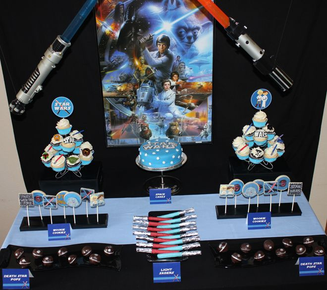 Star Wars Birthday Party Star wars party Star wars birthday and