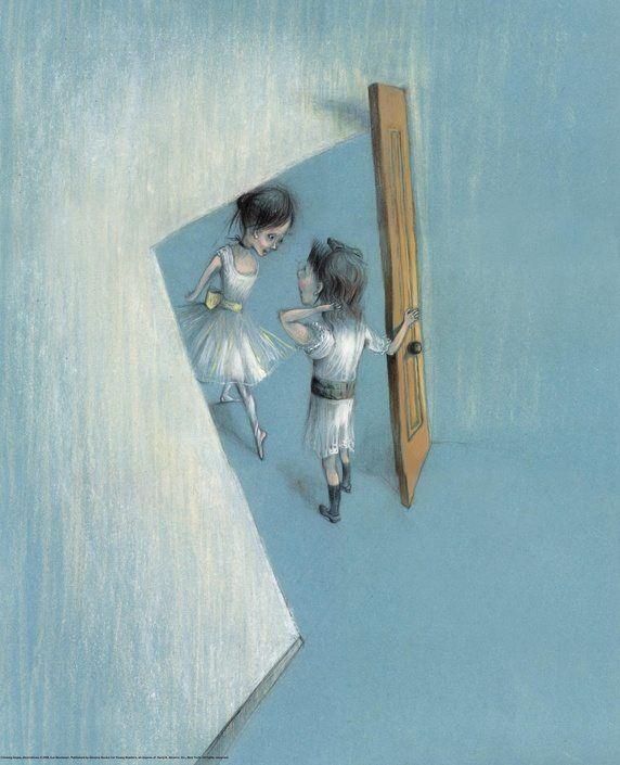 Chasing Degas. Illustrator:  Eva Montanari.  Abrams Books for Young Readers, 2009