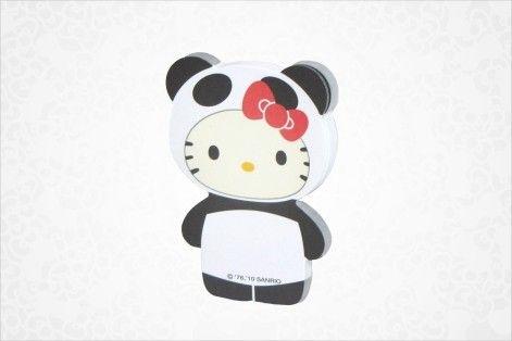 Hello Kitty Die-Cut Sticky Notes: Panda