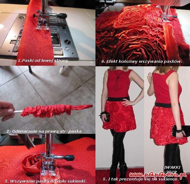 Gotowy wykrój - nagrodzona sukienka LaLi