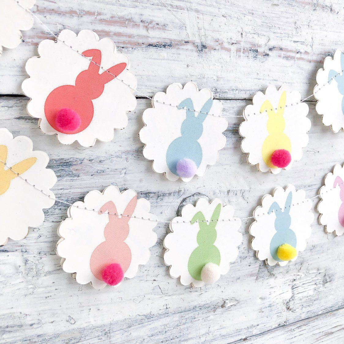 Easter Decor Easter Garland Easter Table Decor Easter Home