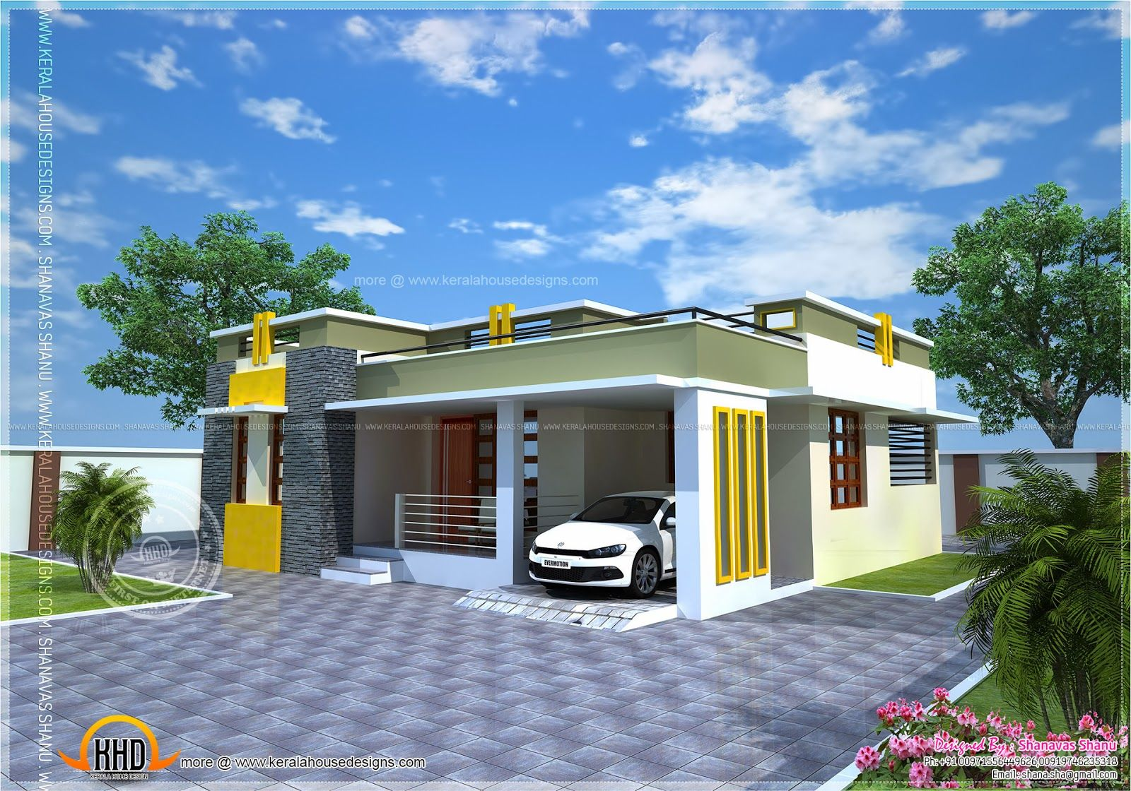 Check The Photos Of Some 35 Most Affordable And Simple Design That You Can Pattern Your Dream Kerala House Design House Plans With Pictures Modern House Plans