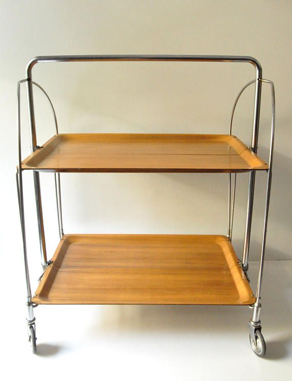 Your Place To Buy And Sell All Things Handmade Mid Century Modern Design Display Shelves Bar Trolley