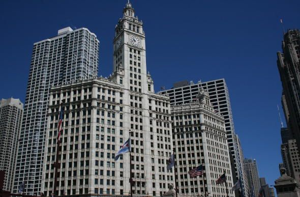 The Wrigley Building, Chicago, US