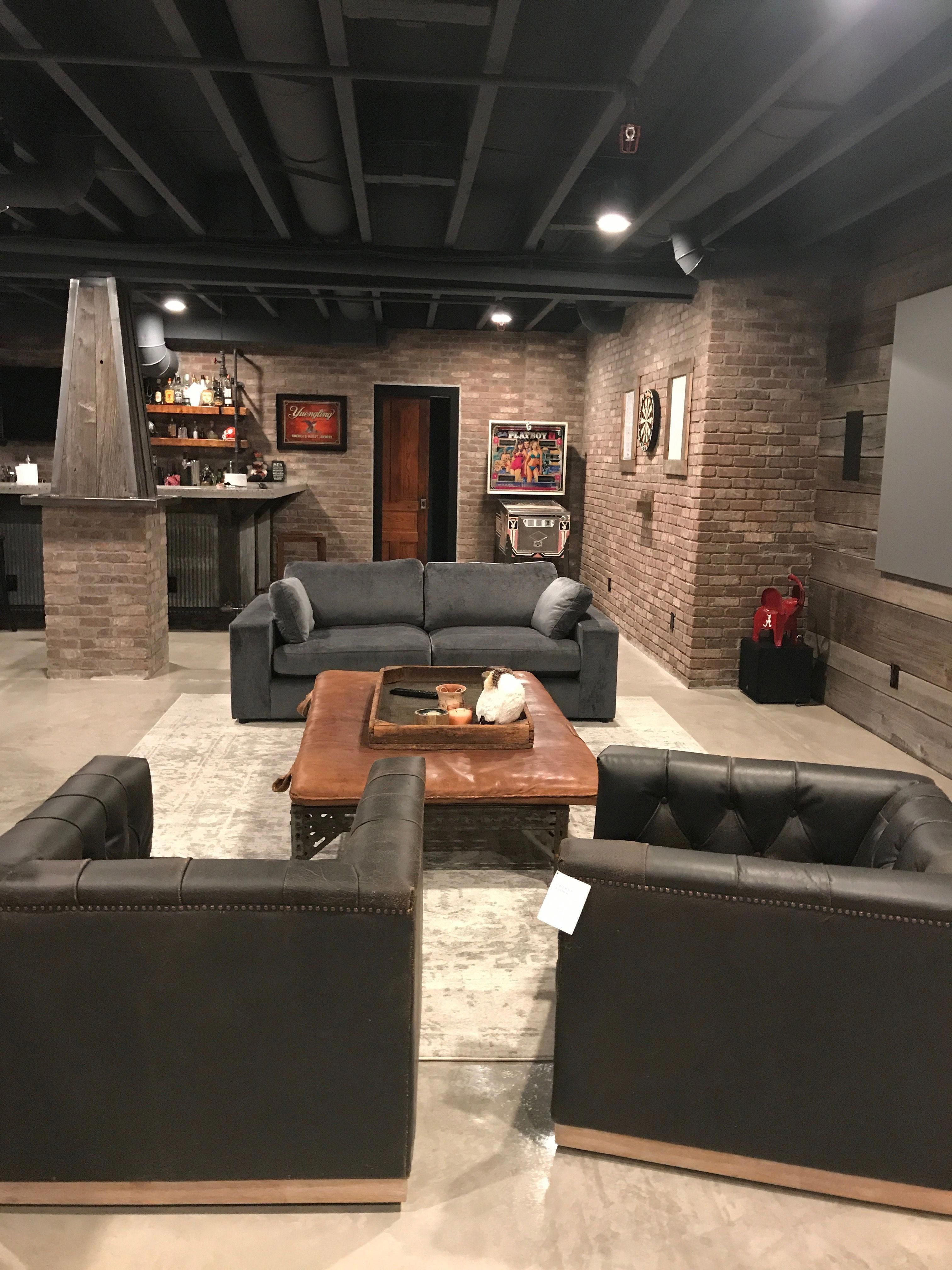 Finish My Basement 7 Great Basement Design Ideas Affordable Basement Remodeling Ideas 20181222 Cozy Basement Basement Inspiration Basement Design