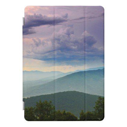 Sunset Storm On The Mountain Blue Ridge Parkway iPad Pro ...