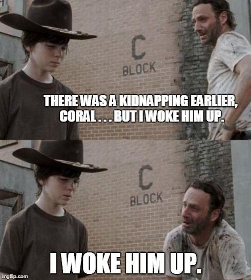 walking dead coral joke