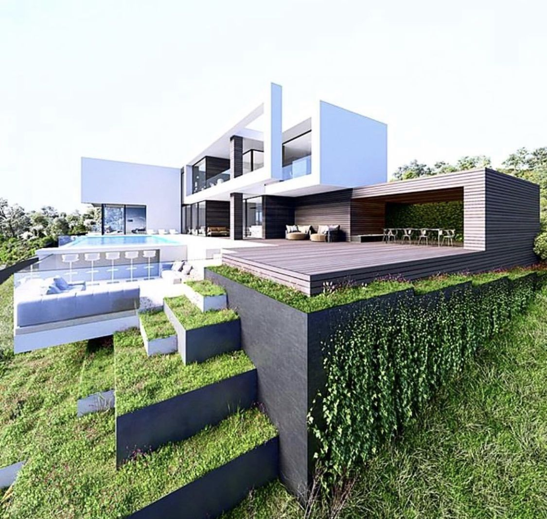 Pin By Sergio Santos On House House Designs Exterior Dream House Exterior Architecture