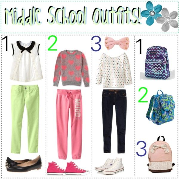Middle School Outfits Fashion Cute Middle School Outfits Middle