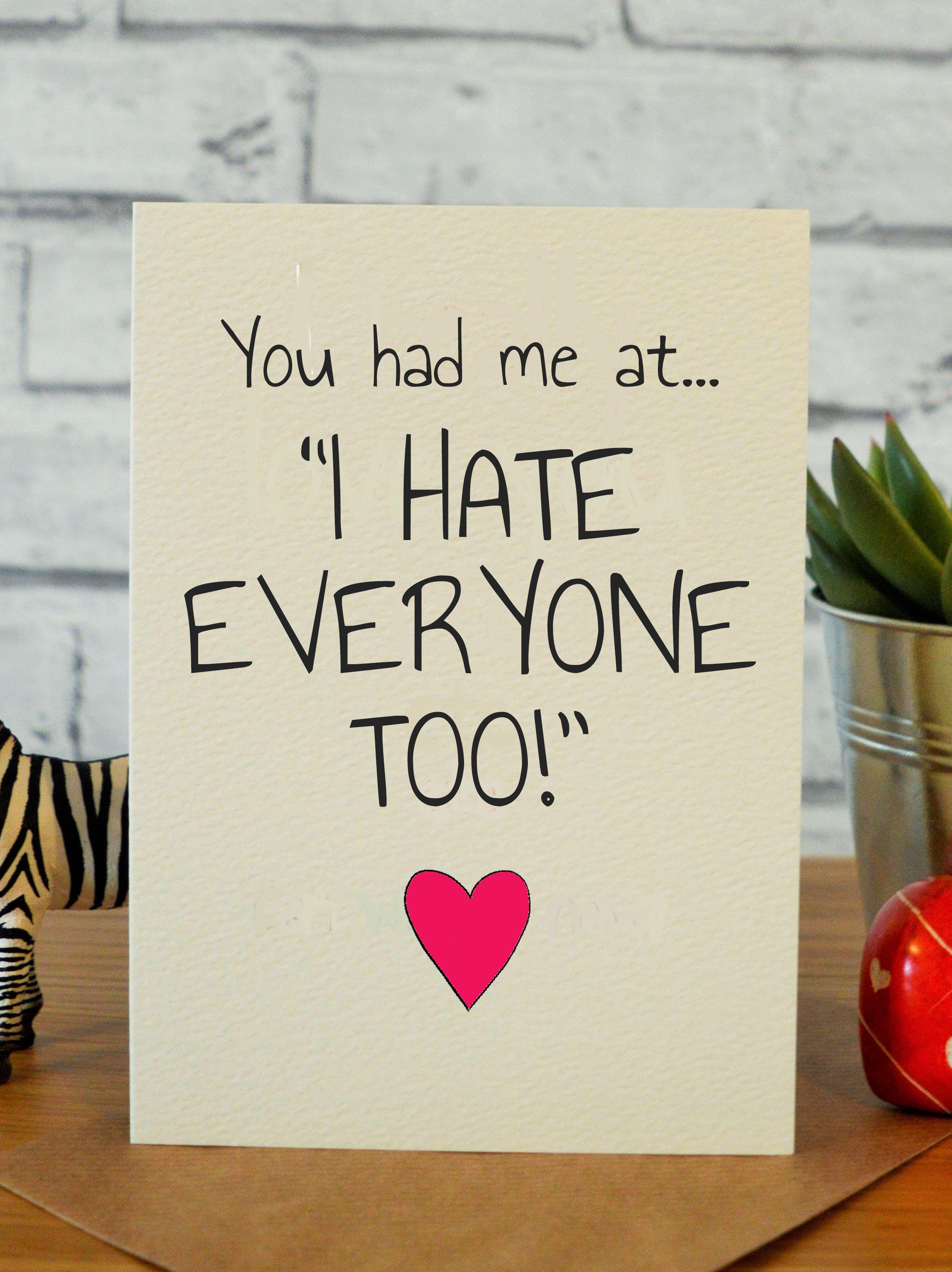 Hate everyone too