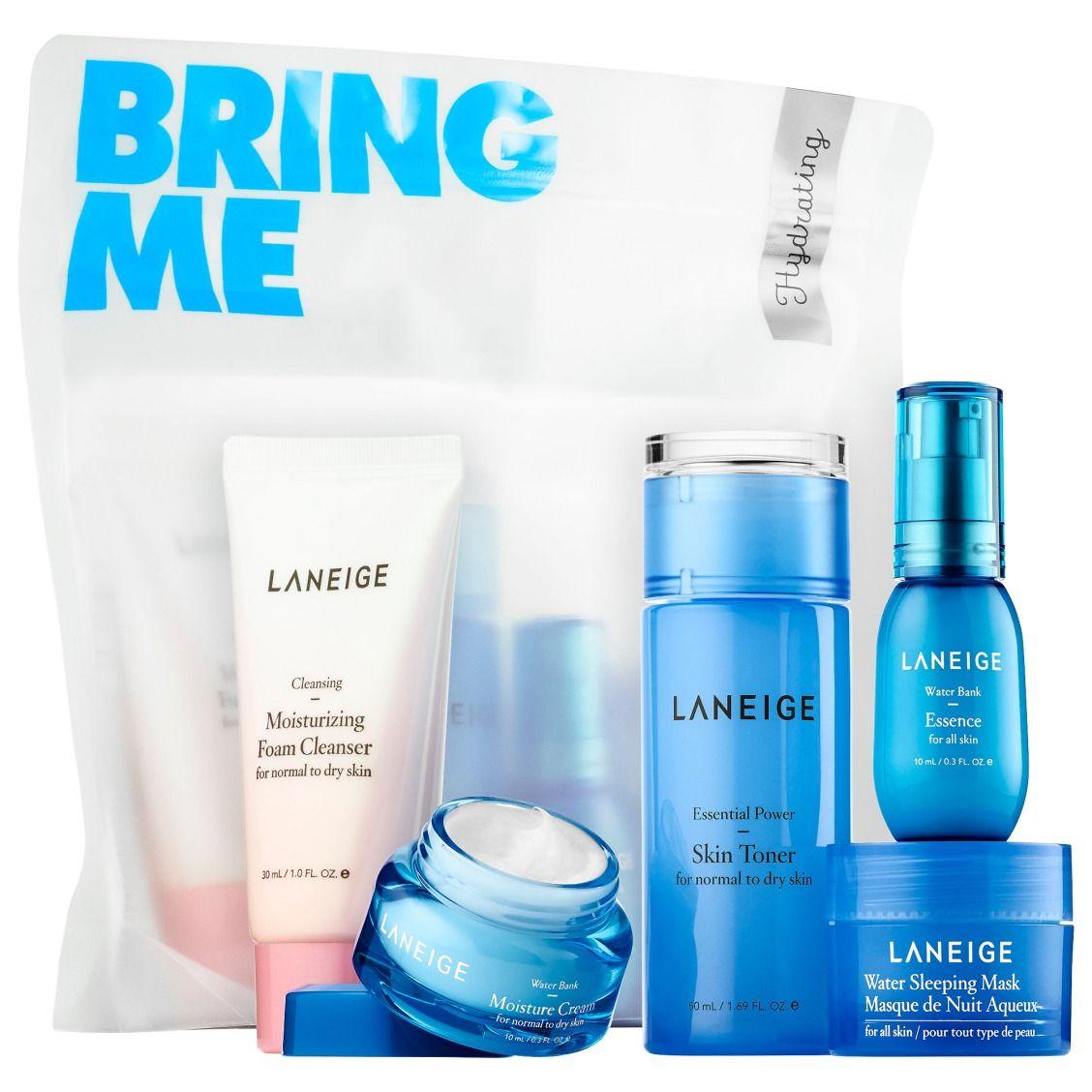 New At Sephora Laneige Hydrating Trial Kit Skin Toner Combination Skin Face Wash Laneige
