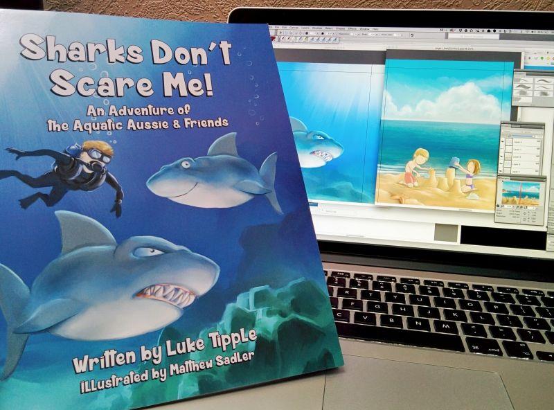 Sharks don't scare me Mat Sadler on Patreon Friends