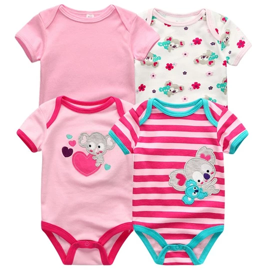 American Eagle Baby Boys Girls Jumpsuits Short Sleeve Romper Bodysuit Bodysuit Jumpsuit Outfits Pink