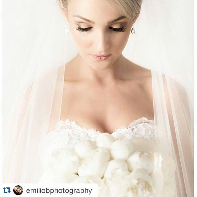 """""""#Repost @emiliobphotography with @repostapp ・・・ What an angel  hair by @julianamarcshair makeup @bellaformakeup video by @perfectmedia #veil #peonies #peonie #portrait #bridal #lace #weddingphotography #bridal #picoftheday #instalike #instabride"""" Photo taken by @bellaformakeup on Instagram, pinned via the InstaPin iOS App! http://www.instapinapp.com (09/06/2015)"""