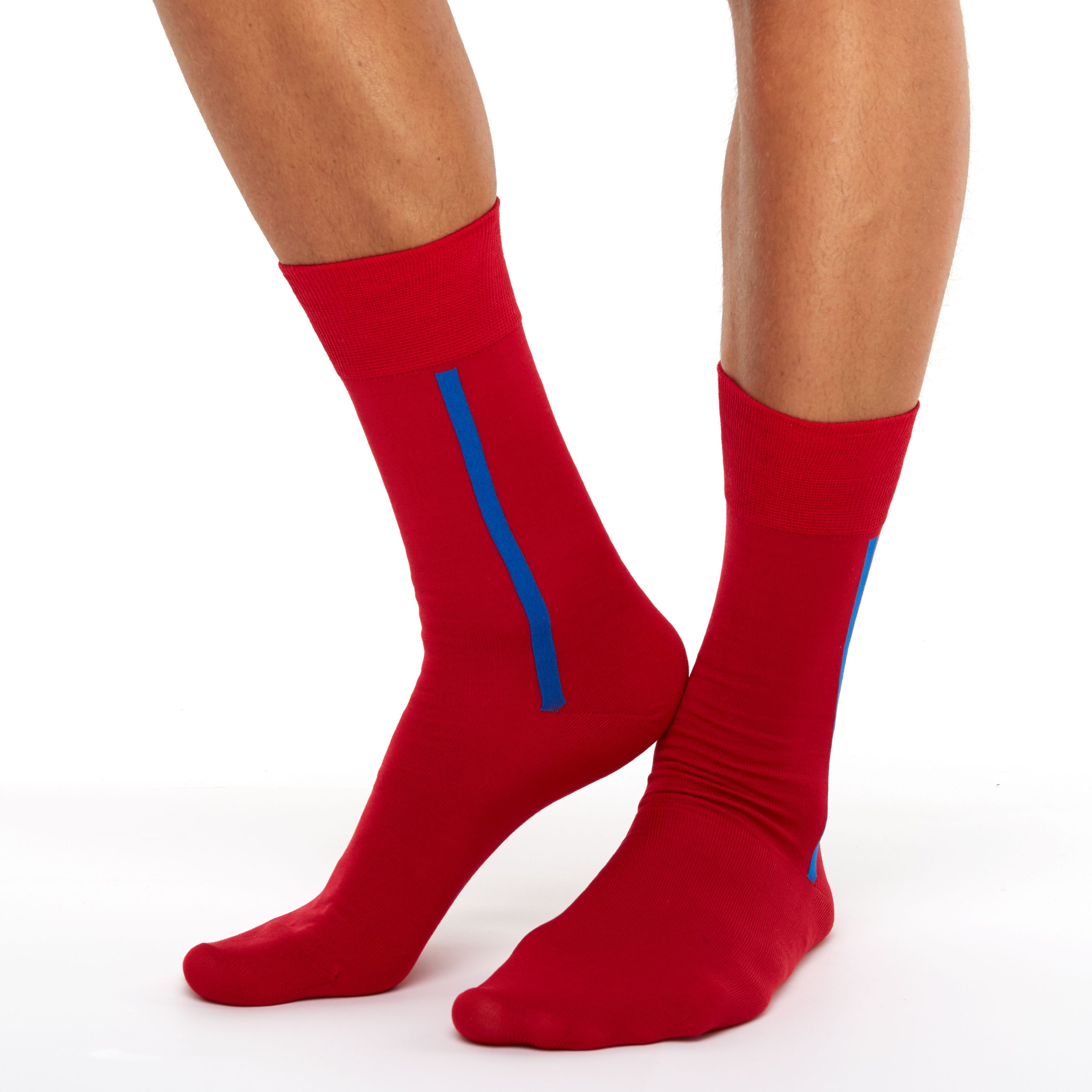 a9269edcfc247 If you're up to crazy socks target, pay attention to our cool mens colored  crew socks in awesome red color. With its new stylish design these casual  long ...