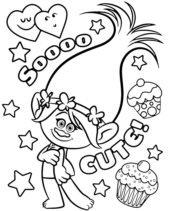 Trolls Trolls Coloring Page Poppy Poppy Coloring Page Disney Coloring Pages Free Disney Coloring Pages