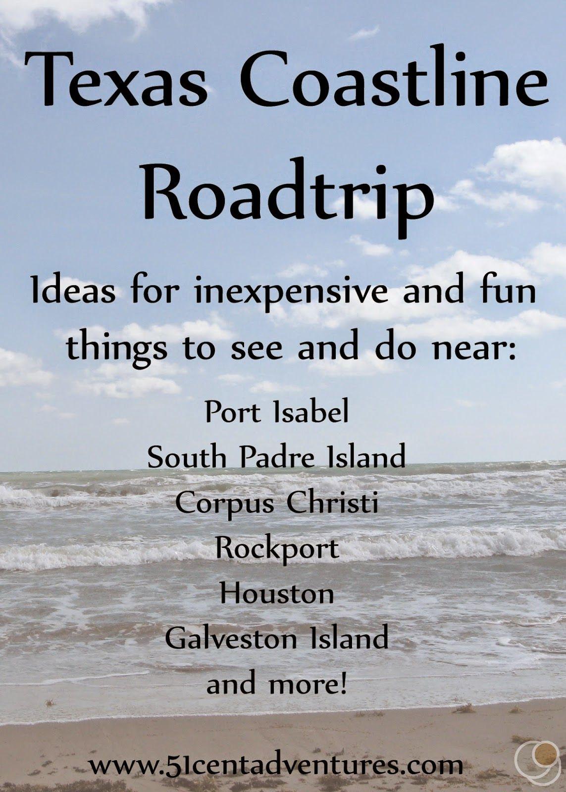 Texas Coastline Roadtrip Texas Roadtrip Road Trip Texas Travel