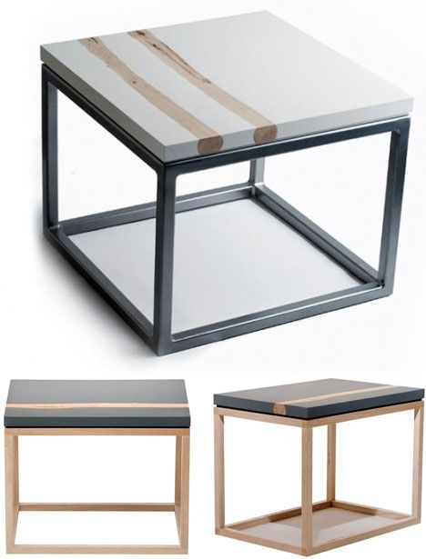 Amazing Resin Inlaid Accent Tables Show Off Salvaged Branches