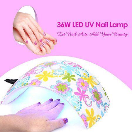 Gel Lamp 36W Dryer UV Nail Curing LED FingernailToenail dCxsBhtQr
