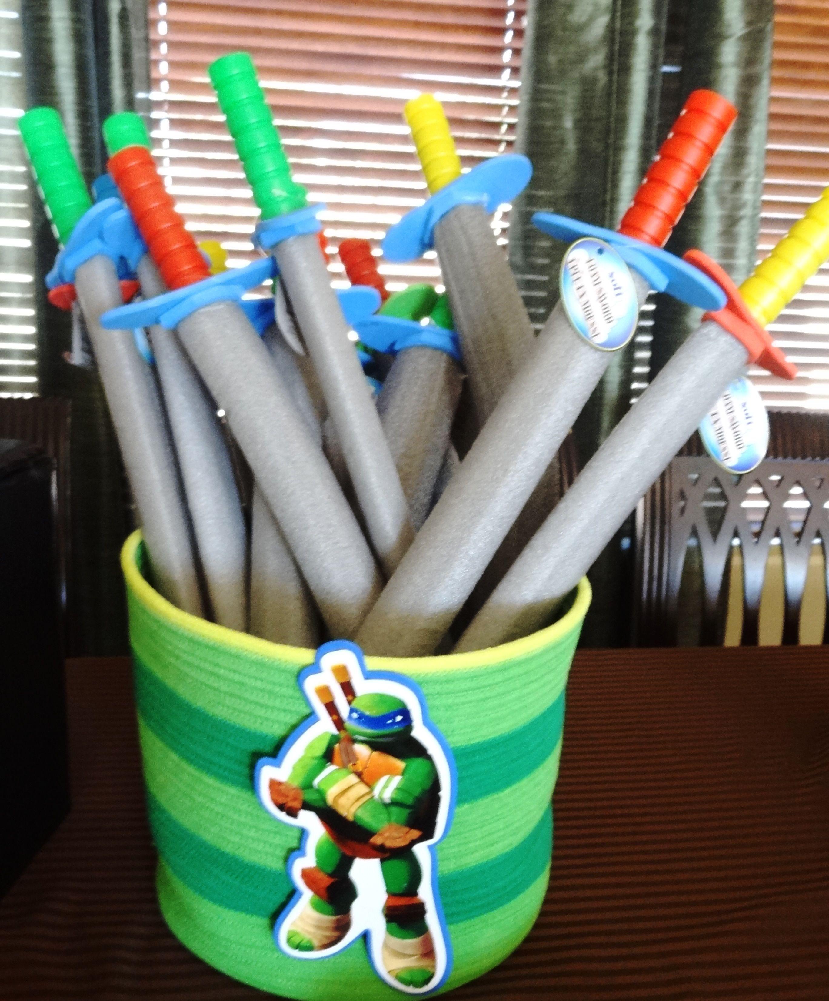 Teenage Mutant Ninja Turtles Birthday Party Ideas Photo 1 Of 47