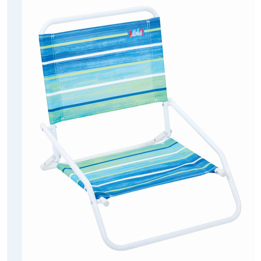Bon Shop RIO Brands Indoor/Outdoor Steel Beach Folding Chair At Lowes.com