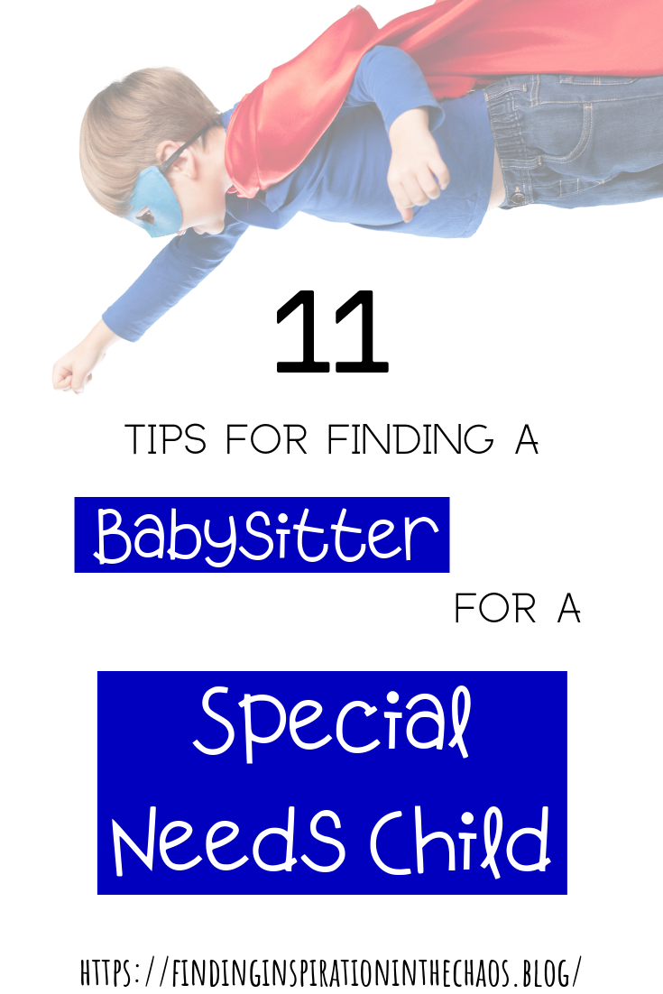 A Special Set Of Skills A Certain Personality Type And Experience From The Babysitter Caregiver Is Needed Special Needs Kids Find A Babysitter Special Needs