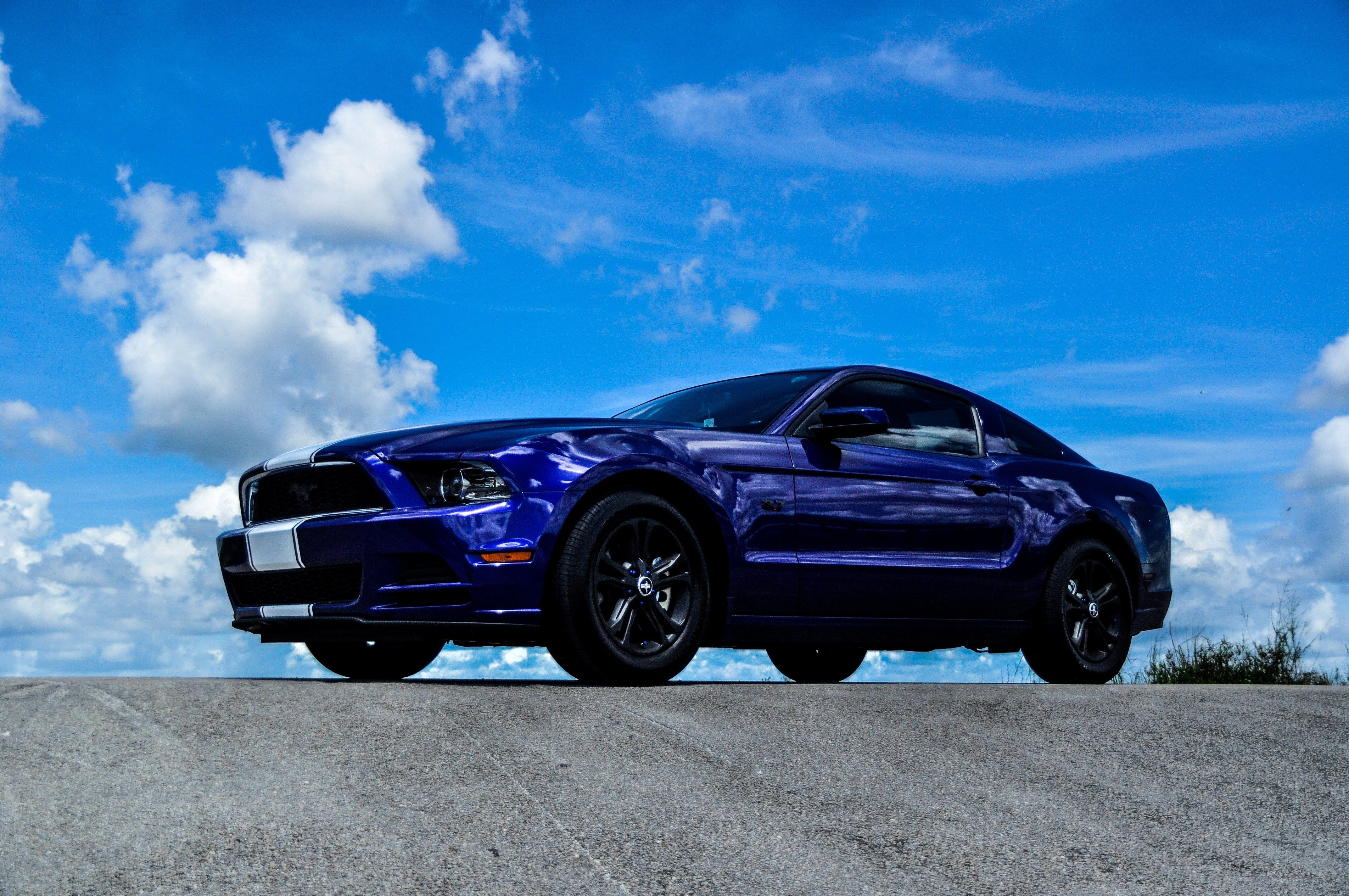 4k ford mustang 4288x2848 auta