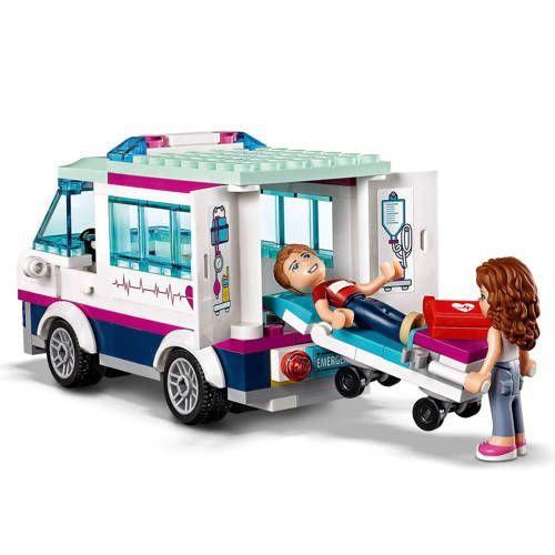 Lego Friends Heartlake Ziekenhuis 41318 In 2019 Products Bed