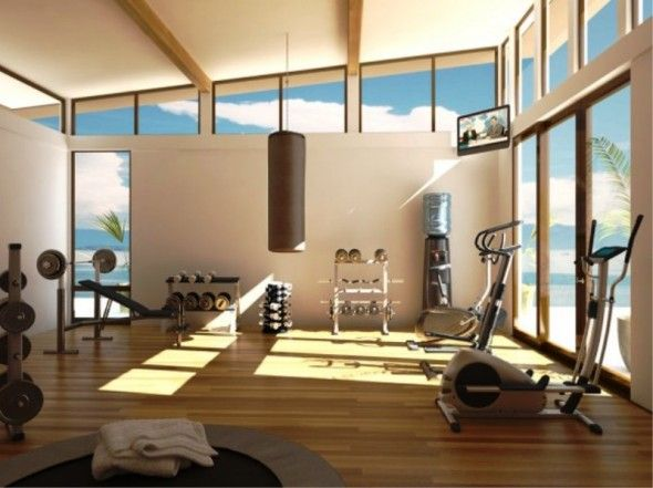 Feels so serene. Floor to ceiling windows! I can just imagine the view..