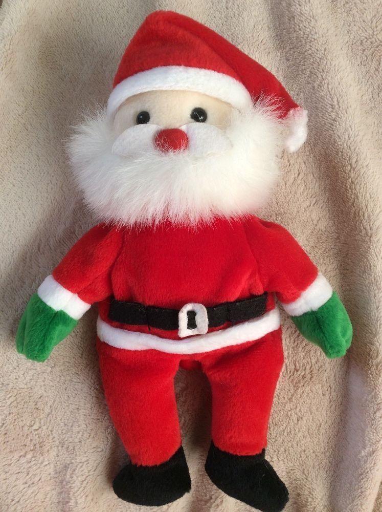 63a12249d5d Vintage Ty Beanie Babies Santa Claus 1998 Vtg 9-12