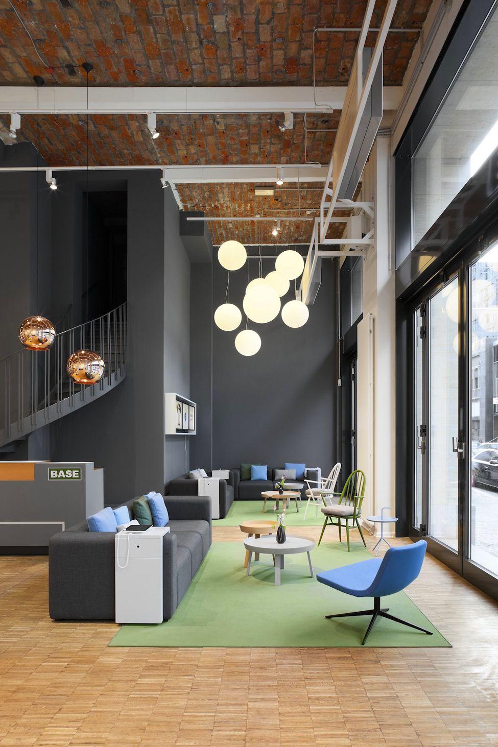 Telecommunication Room Design: Проект BASE_camp в Берлине от Nest One — HQROOM