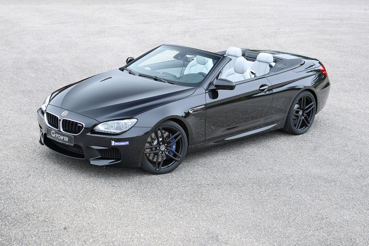 Drop The Top And Up The Power With The G Power M6 Bmw Bmw M6 Bmw M6 Convertible