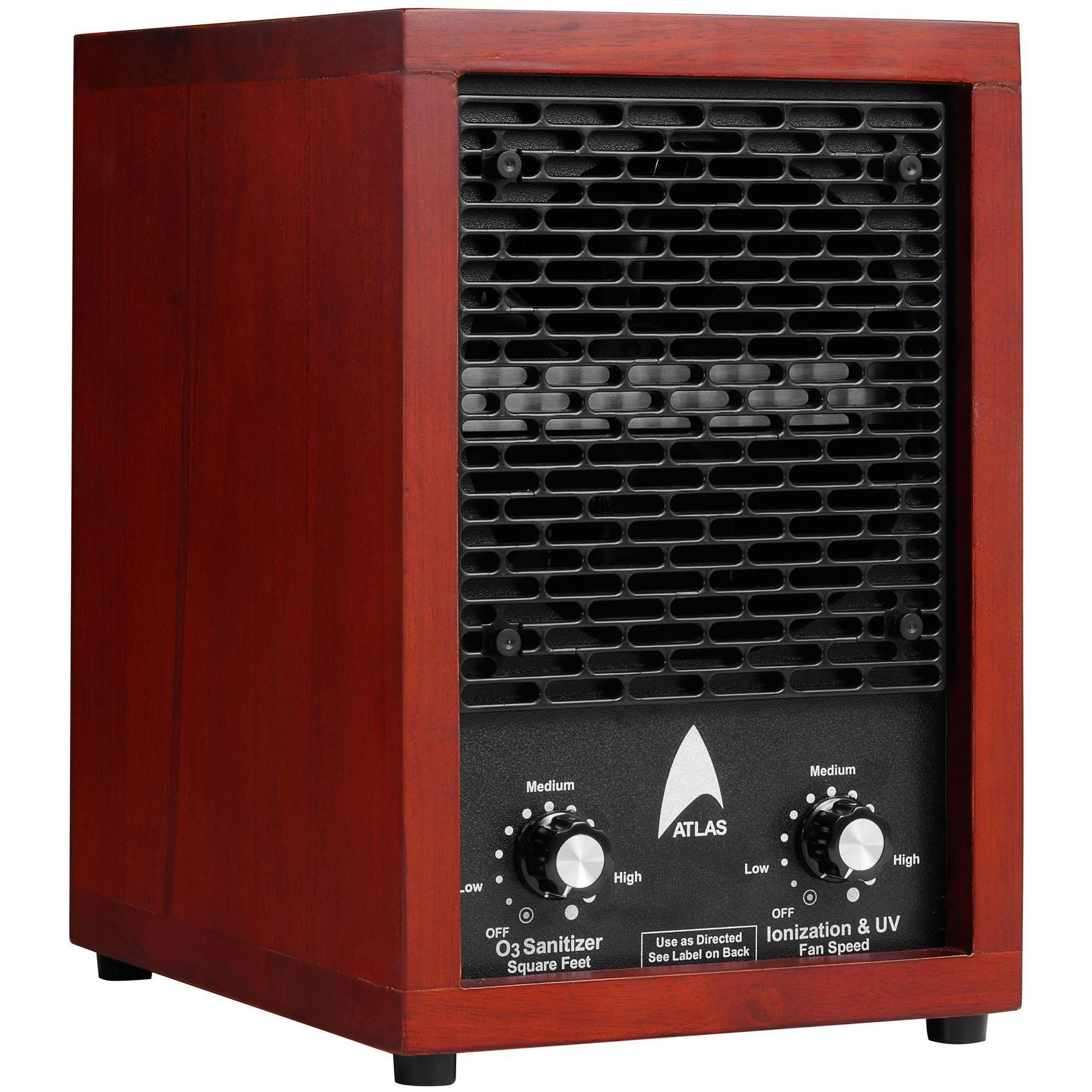 Ionizer 3 Plate Ozone System UV Pre filter HEPA Air