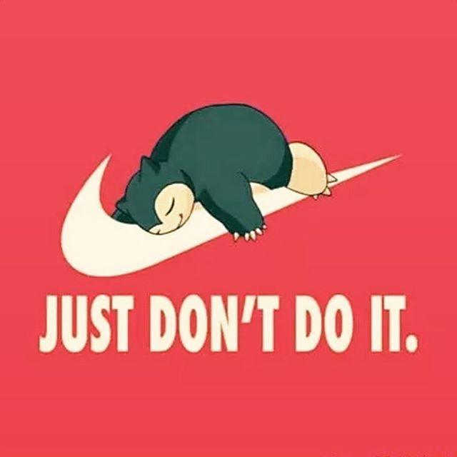 That's the plan for today! 😁 #running #runner #runnergirl #restday #fitness #pokemon #nike