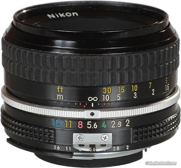 Nikon 50mm F 2 Review Nikon Lenses Nikon 50mm Nikon
