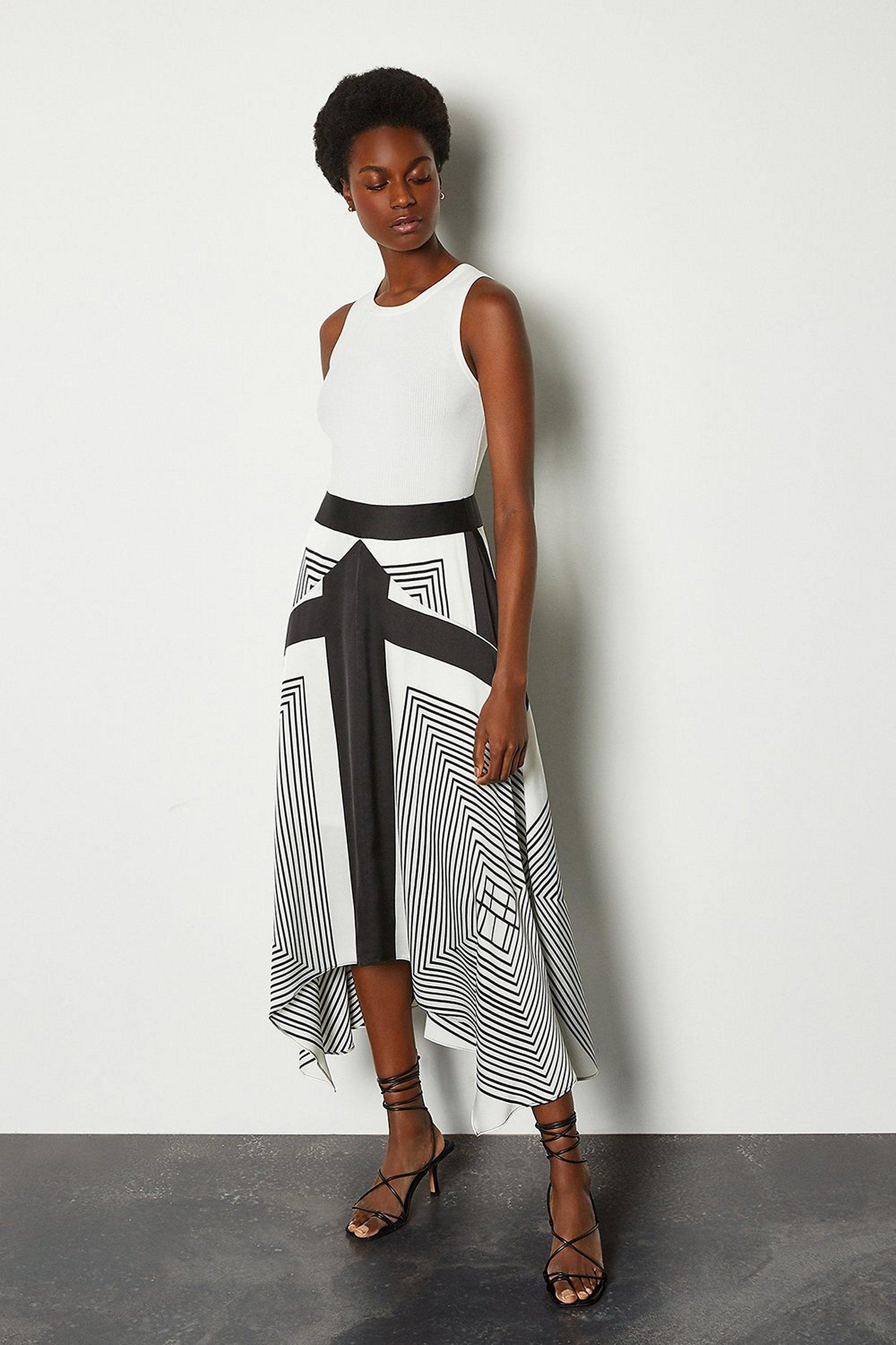 Printed Skirt   Karen Millen