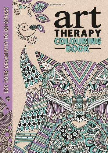 Art Therapy An Anti Stress Colouring Book Adult